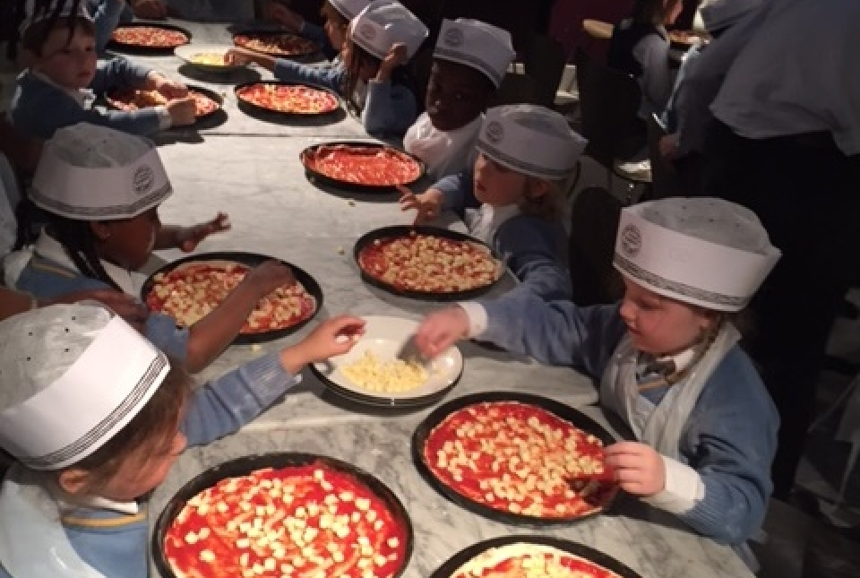 Carroll Class Trip To Pizza Express Ark Conway Primary Academy